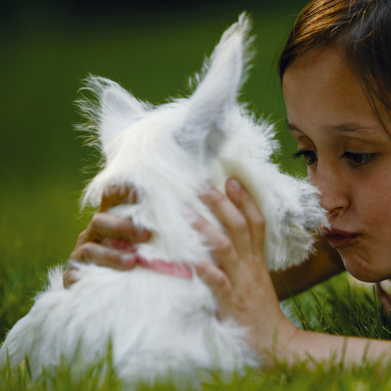 Dog kisses are the best!