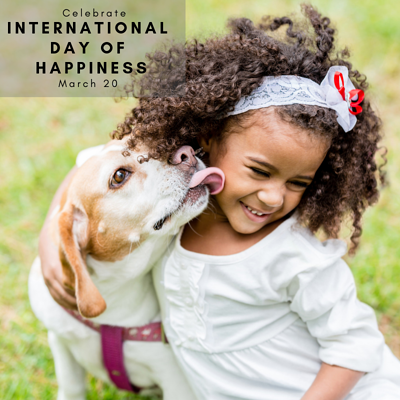 International Day of Happiness is March 20